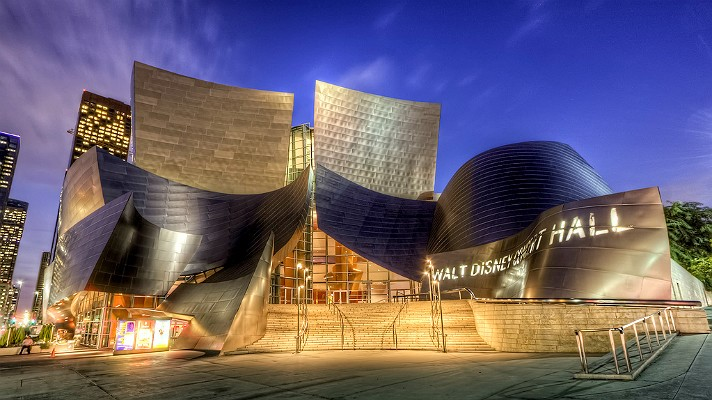 walt disney concert hall, LA events, the three tomatoes