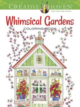 whimsical gardens, coloring books, the three tomatoes