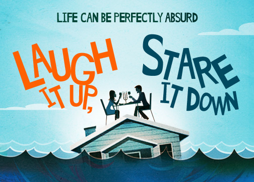 Theater Tickets Giveaway: LAUGH IT UP, STARE IT DOWN