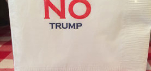 Liz Snith: No Trump on a cocktail napkin, the three tomatoes