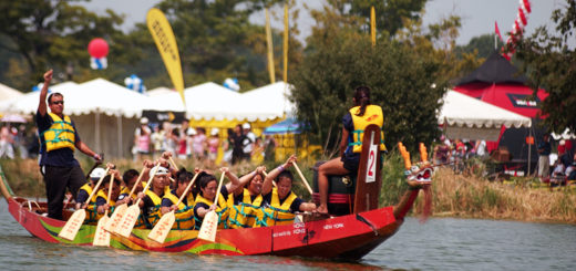dragon boat festival, the three tomatoes