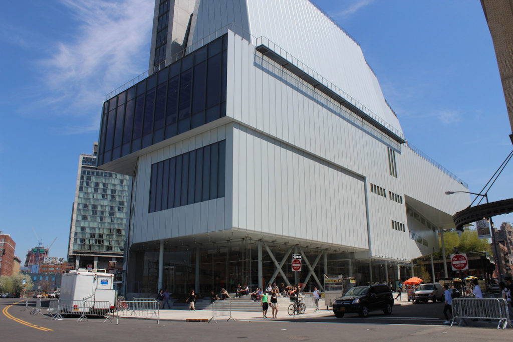 The New Whitney: NYC's Newest Architectural Wonder, the three tomatoes