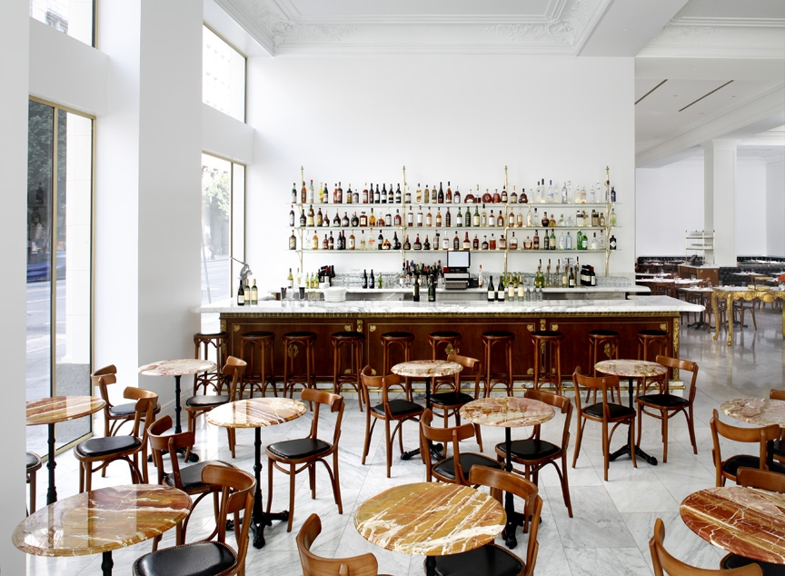 Bottega Louie - Italy meets France, la restaurants, the three tomatoes