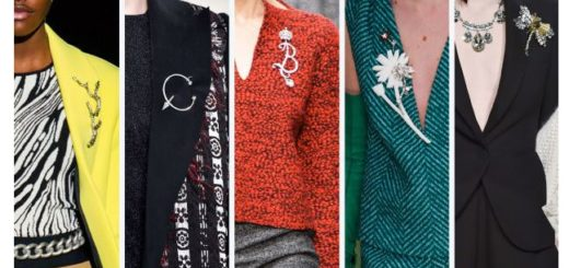 Fall Style Trends: Return of the Brooch