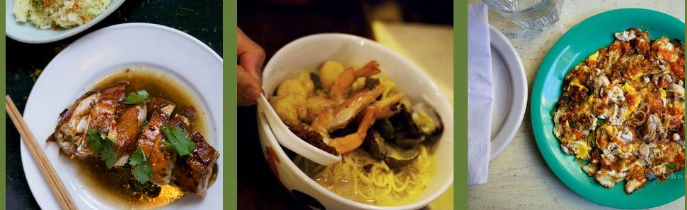 Singapore Riff: Chomp Chomp, gael greene, the three tomatoes