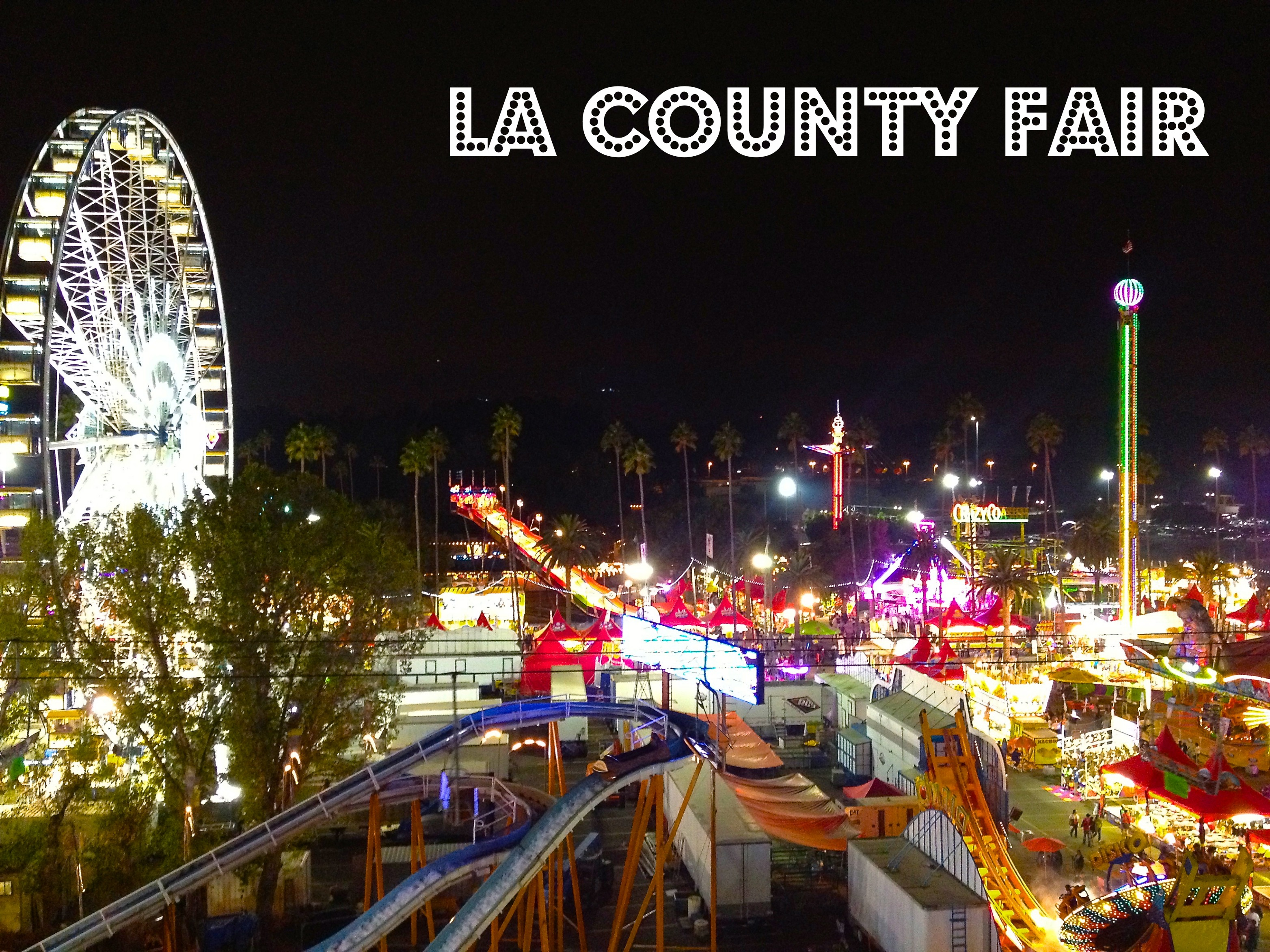 LA Life: The Taste, The Fair, The Facelift, and Time Travel, LA county fair, the three tomatoes