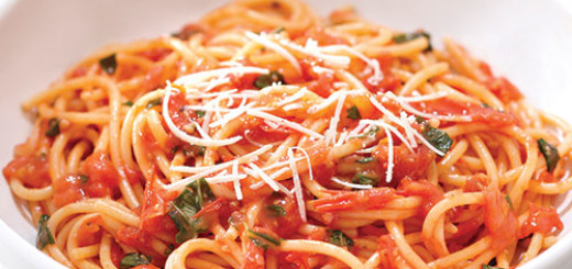 Recipes:  Homemade Tomato Sauce and Peperonata