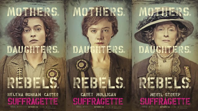 """Suffragette"" Reminds us to Never Take our Vote for Granted, the three tomatoes,"