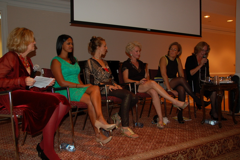 Panelists Dr. Denise Jagroo, Anita Teresa Boeninger, Dr. Beatty Cohan, and Beth Battaglino