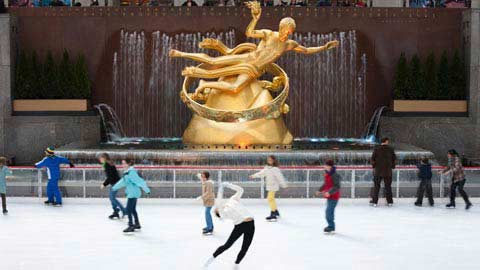 NYC Life: Ice Skating Time; Pumpkin Art; Foliage Cruise