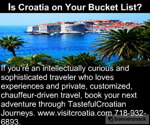 Many thanks to our sponsor Tasteful Croatian Journeys.