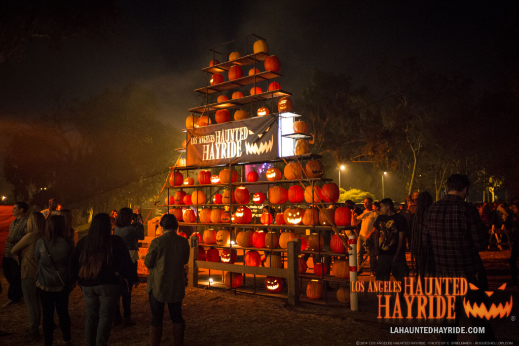 LA Life: Haunted Hayride, Rain, Ted, the three tomatoes