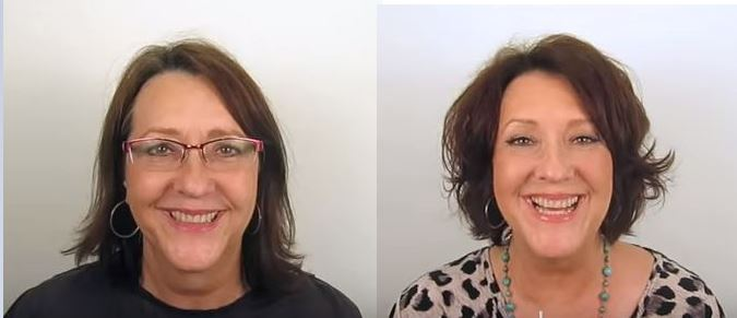 Makeover: Flat to Full Hair, the three tomatoes