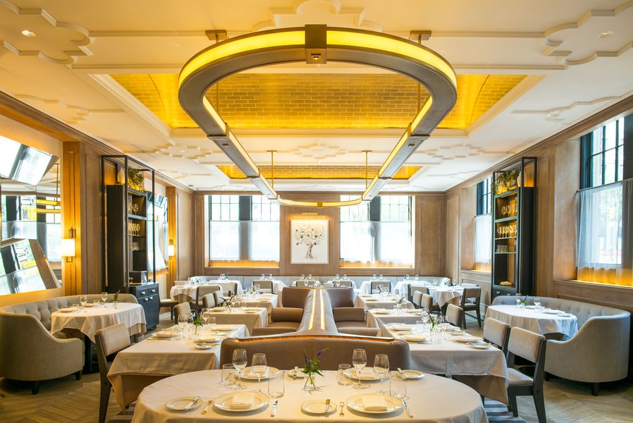 Vaucluse: French Dining on the UES, gael greene, the three tomatoes
