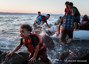 Helping the Syrian Refugees, refugees un