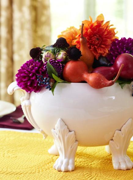 Six Simple Thanksgiving Table Décor Ideas