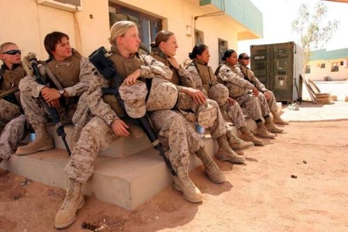 thank you for your service, women in the military, the three tomatoes