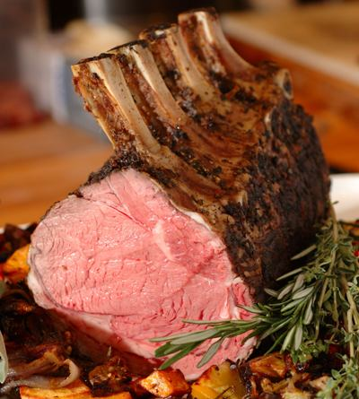 High Temperature Rib Roast