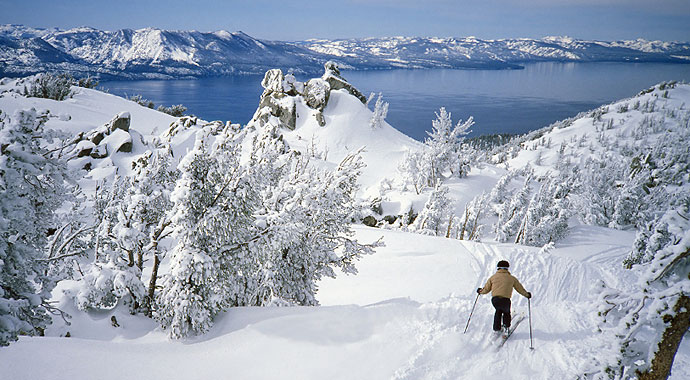 Winter Fun at Lake Tahoe