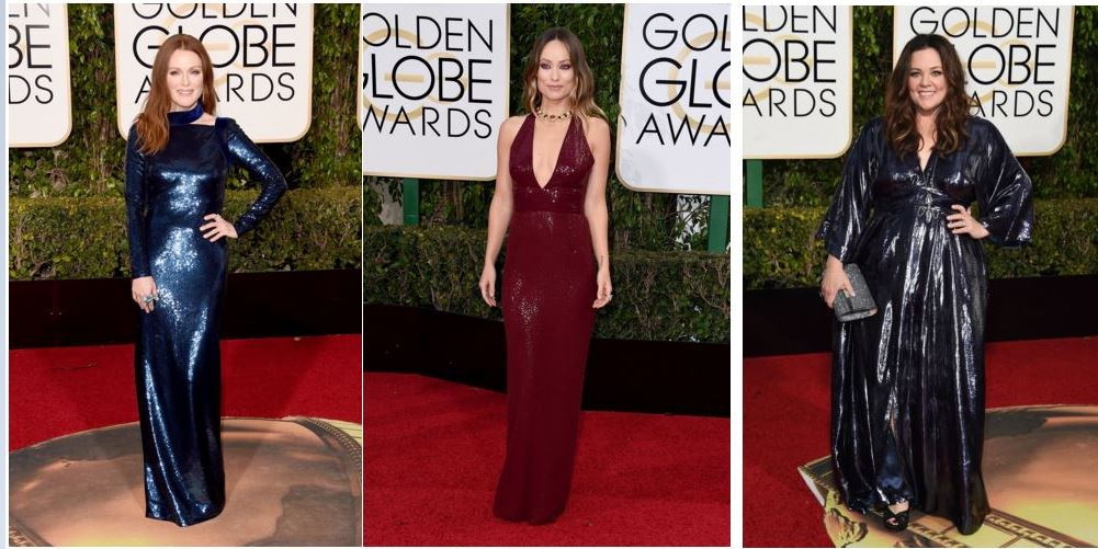The Golden Globes Red Carpet Rocked!