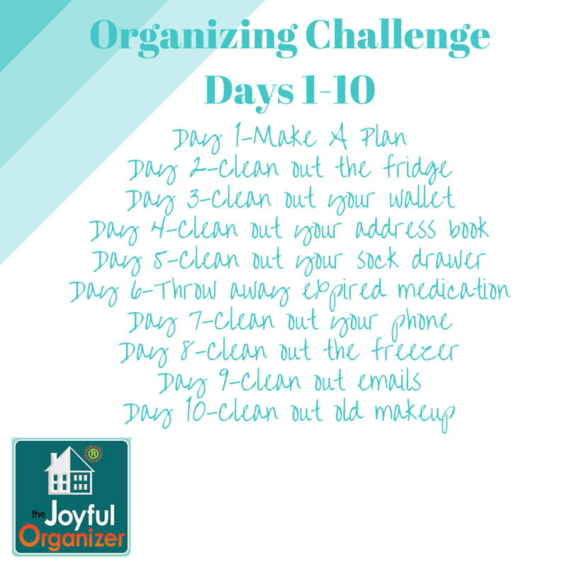 January Organizing Challenge-Part 1