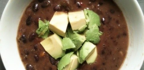 What's A Black Bean Soup Without The 'Snout?