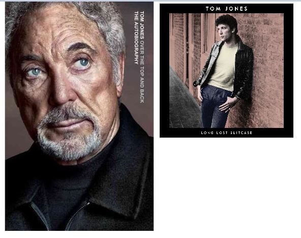 Sir Tom Jones speaks to Valerie Smaldone