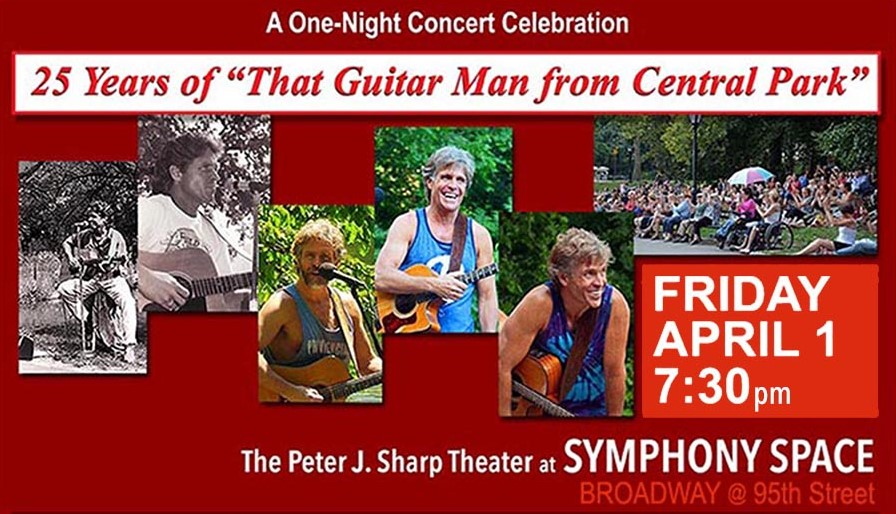 "Win Tickets to See David Ippolito ""That Guitar Man from Central Park"""