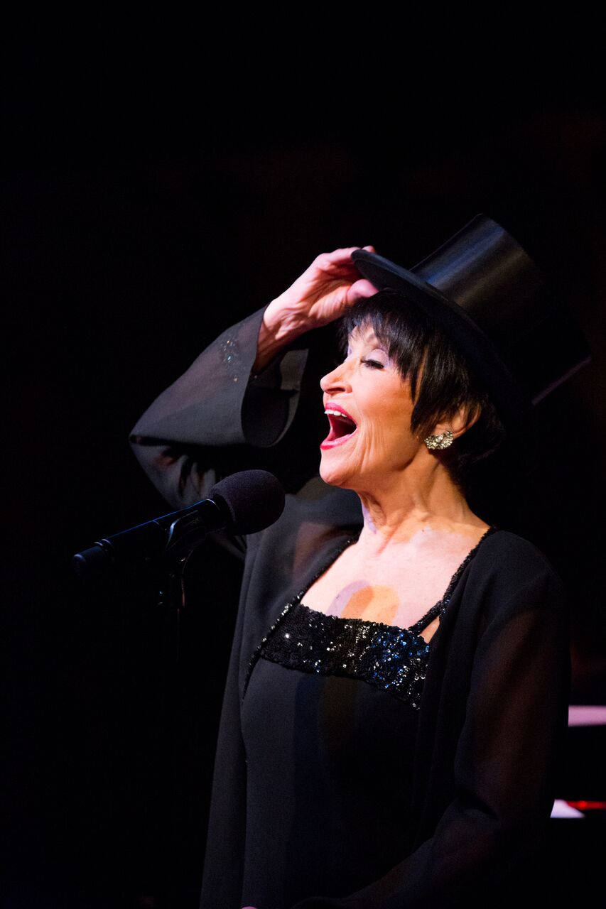 Superstar Chita Rivera Debuts at Café Carlyle