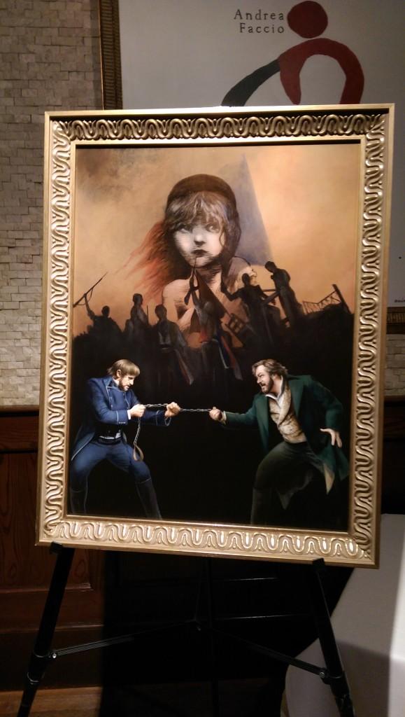 Concert Bands, Shakespearian Fun, Les Mis Portrait Unveiling