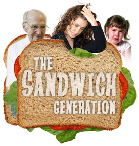 The Sandwich Generation: Working, Parenting, Caregiving