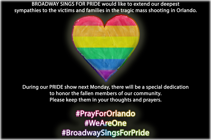 Broadway Sings for Pride