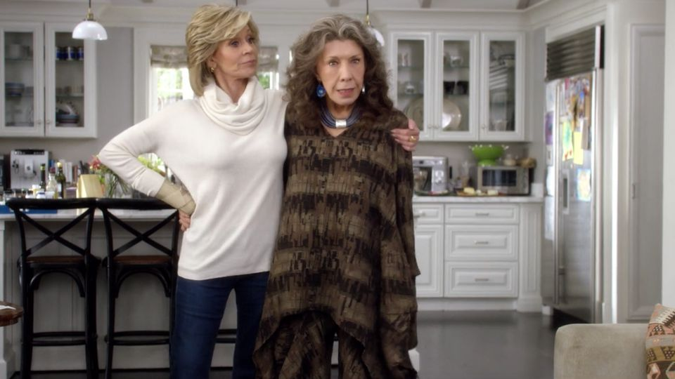Layers clothing store grace and frankie