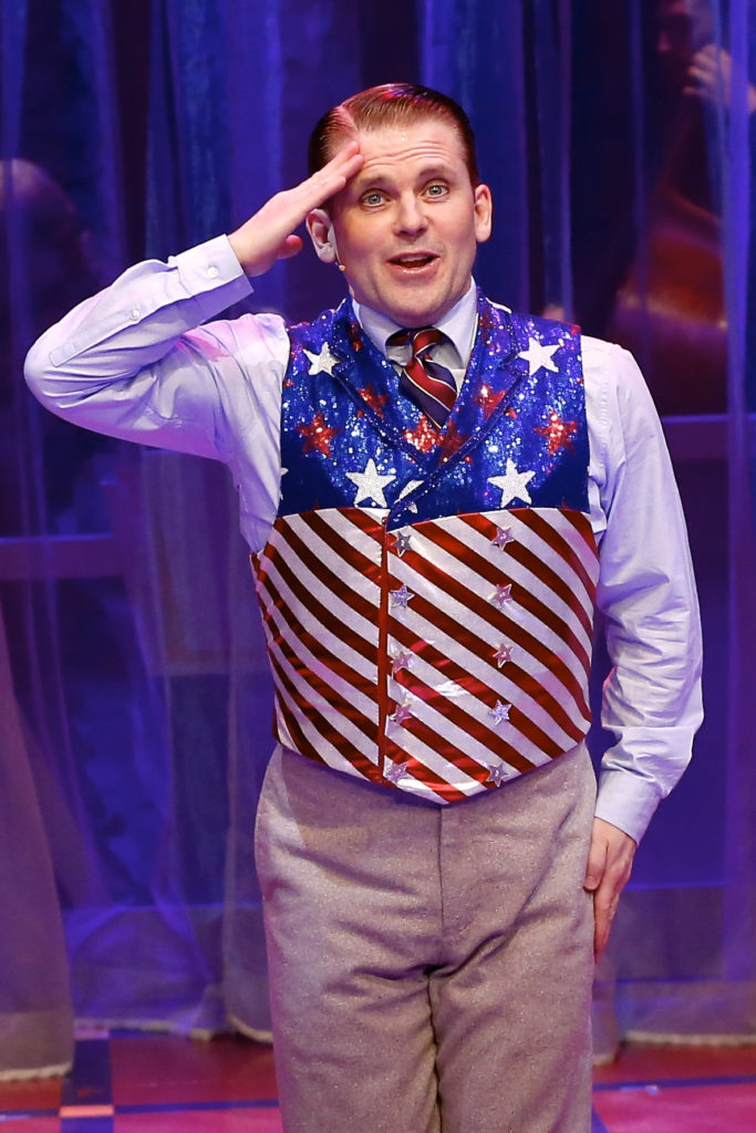 Cagney the Musical Plays its 117th Performance on Cagney's 117 birthday.