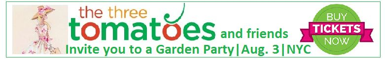 garden party banner ad
