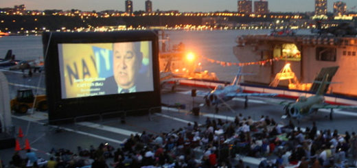 NYC Life: Viva La France, Summer Sales, Outdoor Movies, Jazz