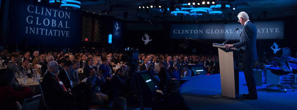 Inspiring Speakers at the Clinton Global Initiative