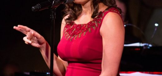 Laura Benanti at the Cafe Carlyle