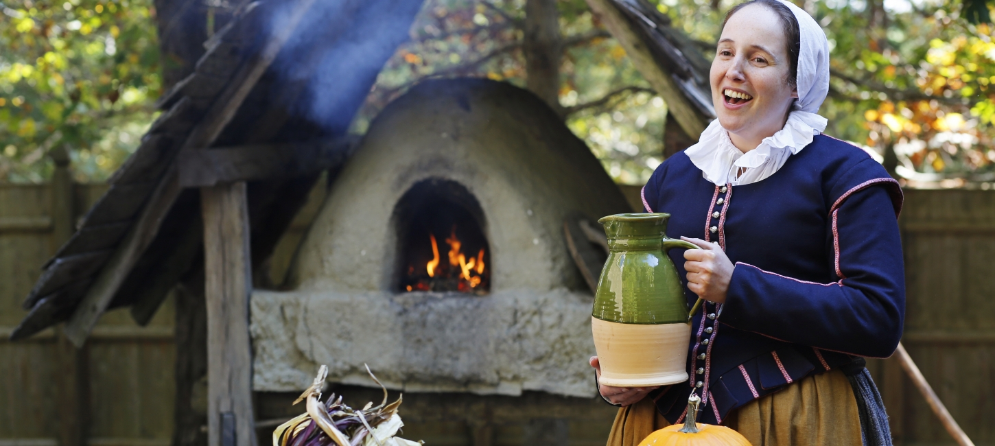 History Relived at Plimoth Plantation