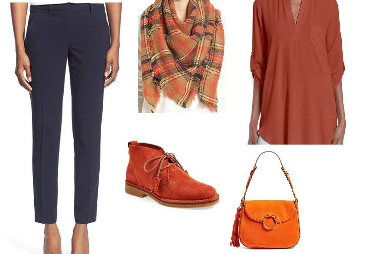 Spice Up Your Fall Wardrobe with a Little Pumpkin