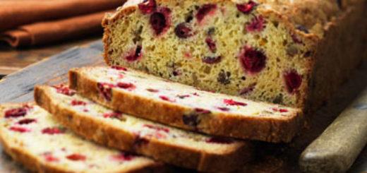 Classic Cranberry Nut Bread