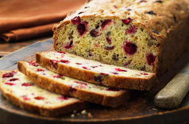Classic Cranberry Nut Bread