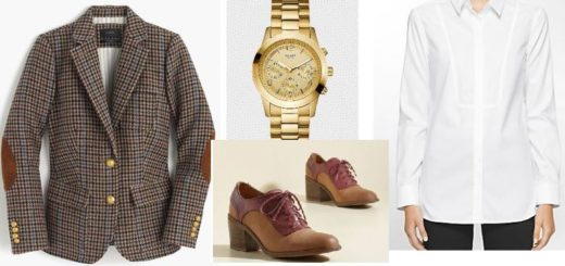 Taking Our Fashion Clues from Men