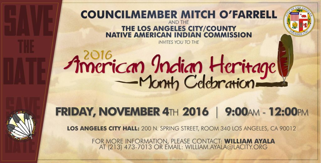 LA LIFE: Native American Month, Museums, Bird Walks, Design Fair