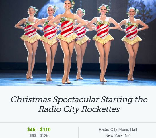 Holiday Shows, Discounts, and a Holiday Shopping Find too