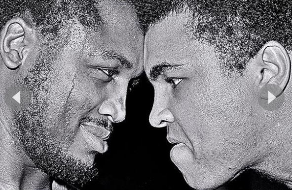 ali in the ring