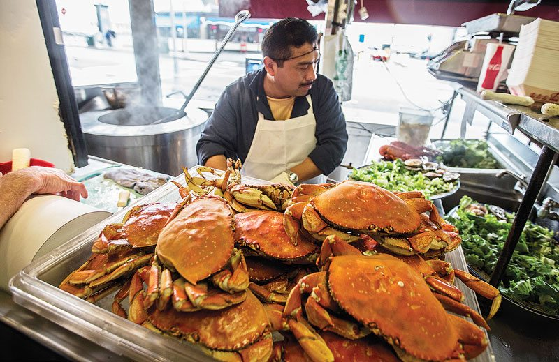 Dungeness Crab Restaurant In San Francisco