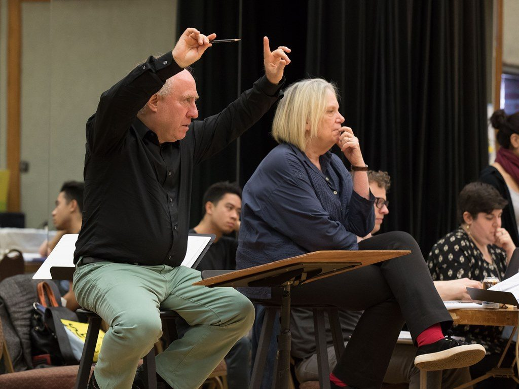 JEFFREY KAHANE & ANNE BOGART Lost in the Stars - Dress Rehearsal UCLA Center for the Art of Performance Royce Hall - 170114