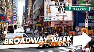 broadway 2 for 1