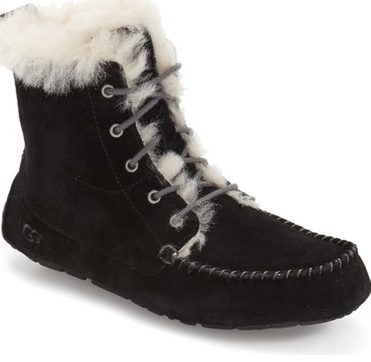 chicaree ugg bootie